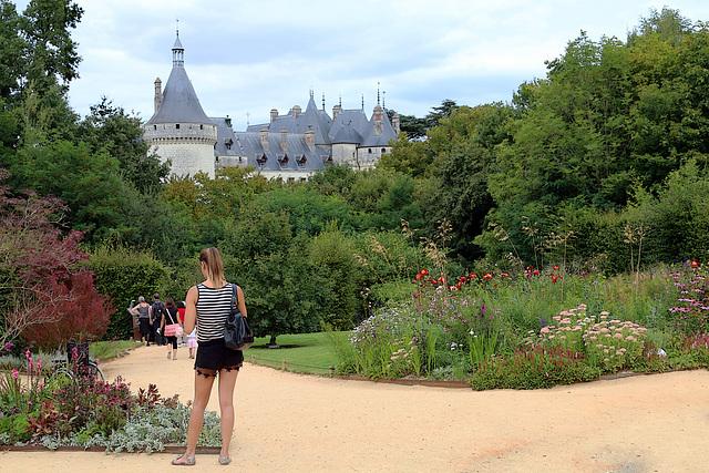Festival des Jardins 2014 , avec une vue différente de celle de mon amie Bernadette . A vous de juger ;o))))))