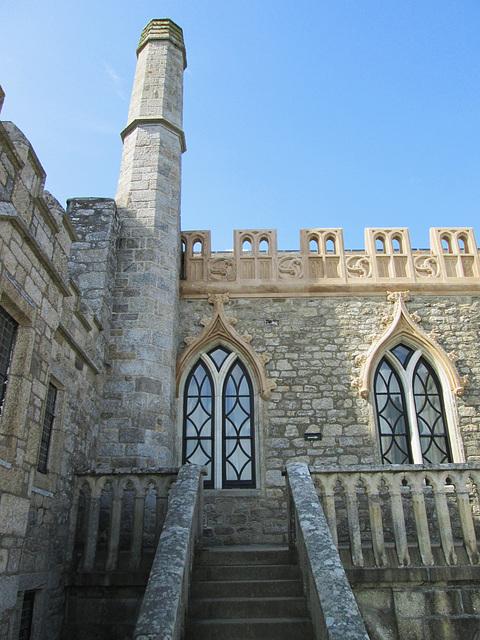 Castle windows.