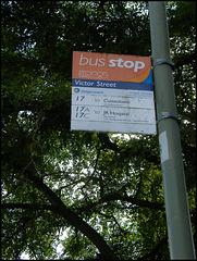 Victor Street bus stop