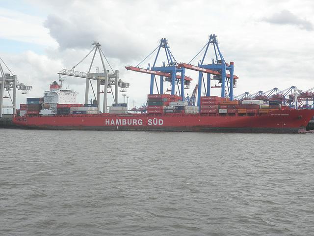 Containerschiff  Spirit of Hamburg