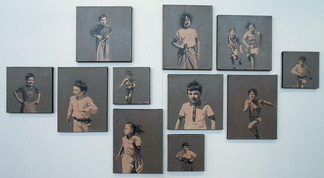 Série de peintures réalisées par Thierry Carrier