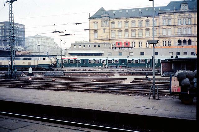 Hamburg HBF  1980