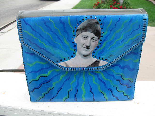 Upcycled Purse: Keep on Swimming (1)