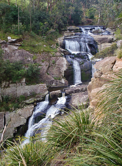 Agnes Falls in the spring