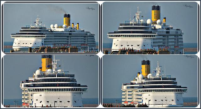 Collage Le costa Medirerrannea