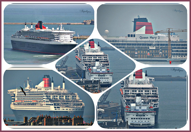 Collage Queen Mary 2