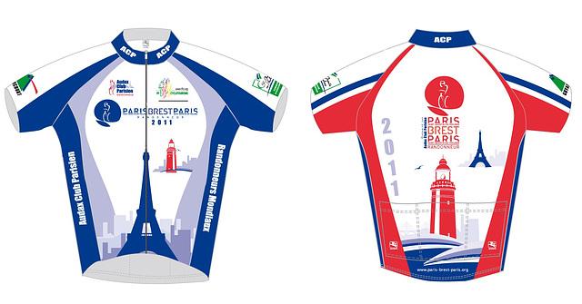 2011 Paris-Brest-Paris official jersey