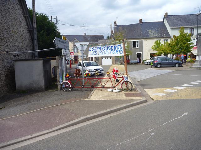 PBP decoration in Loupfougères