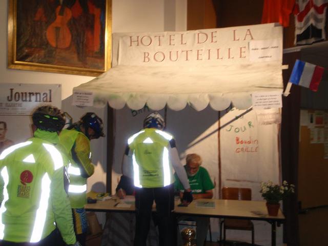 Mortagne Au Perche Control 1:23AM August 25.