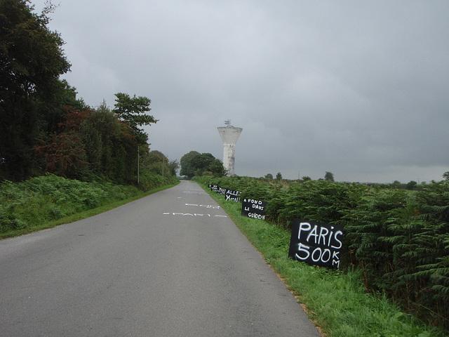 Paris 500km away