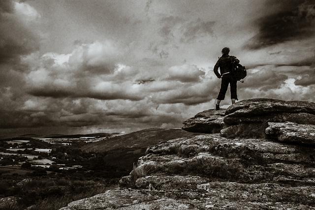 Karan im Dartmoor - 20140811