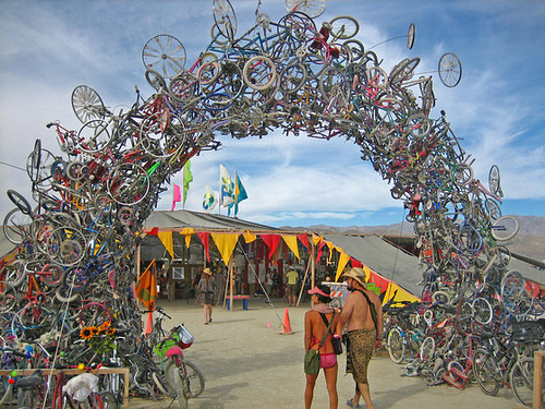 2007 Center Camp Entrance