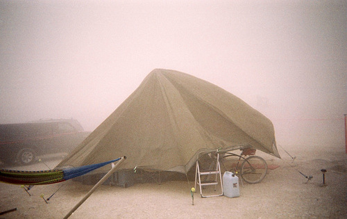 2007 My Camp In A Dust Storm