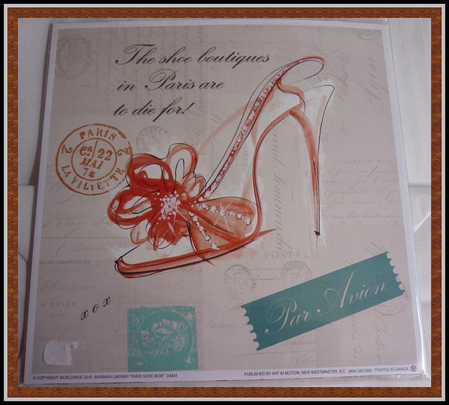Christiane / Talons hauts aériens / Airplane & high heels.