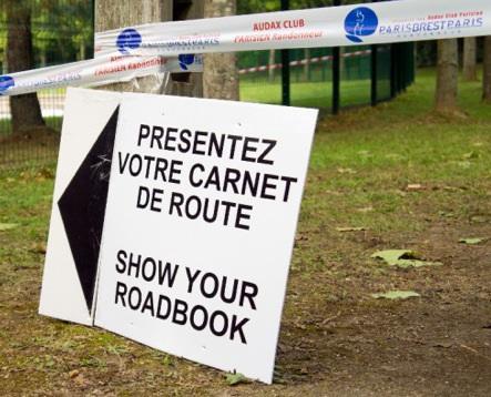 Show your roadbook - indeed!