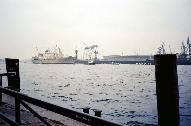 klassisches Hafenfoto - Ende 70er Jahre