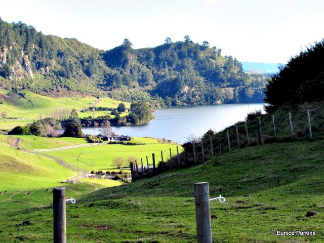 From Above Lake, Whakamaru.