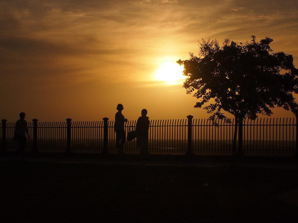 Sonnenuntergang in Natchez