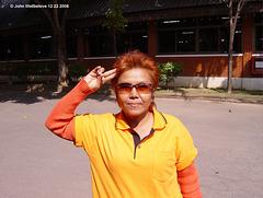 Wake Up in Orange at an Hotel in Lampang December 22