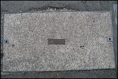 PO manhole cover
