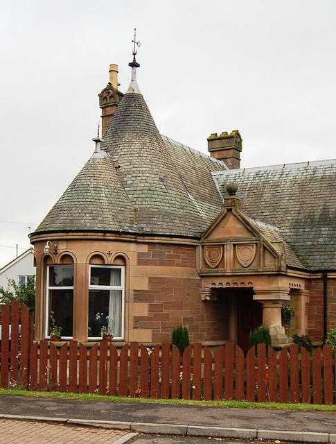 Lodge House, The Elms, Arbroath, Angus, Scotland