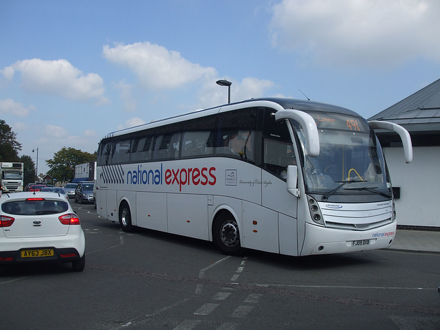 DSCF5812 Ambassador Travel FJ09 DXB - 8 Sep 2014 (in National Express livery)