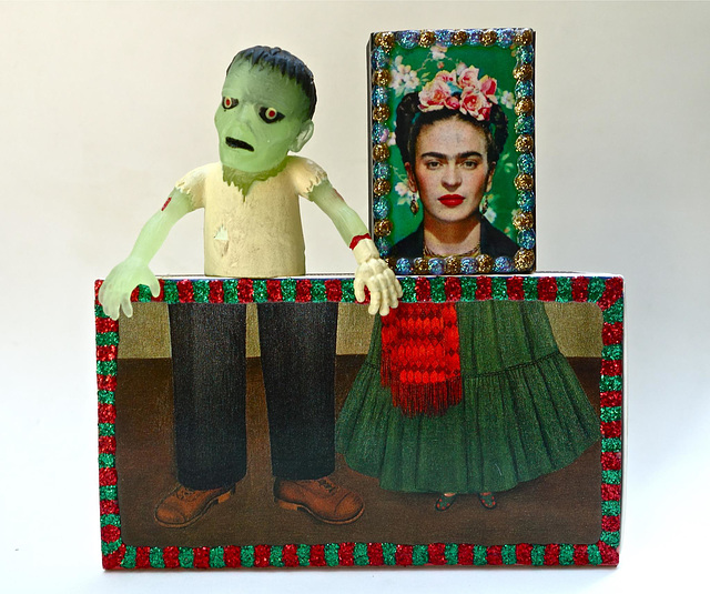 Still Life with Frida and Friend