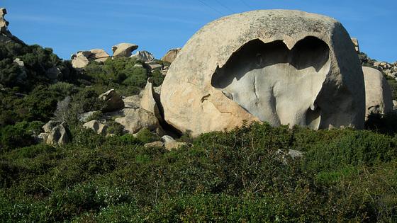 Corsican Rock Formation