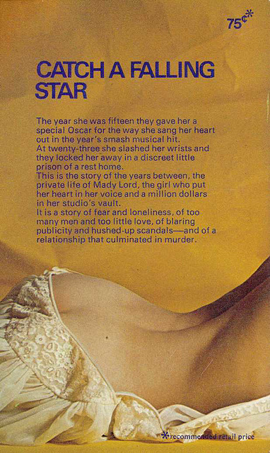 Reed Marr - Catch a Falling Star (back cover of Australian edition)