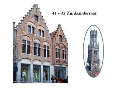 41-43 Zuidzandstraat Bruges 11.6.2005