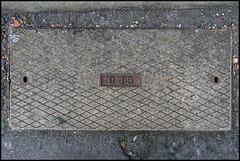 GPO manhole cover