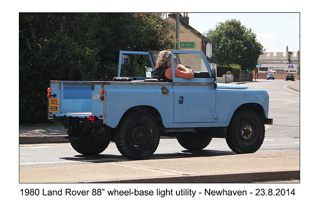 "Land Rover 1980 88"" - Newhaven - 23.8.2014"