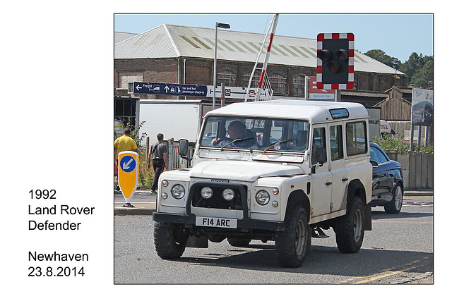 Land Rover Defender 1992 - Newhaven - 23.8.2014