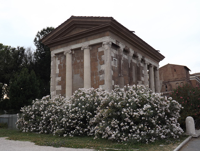The Temple of Portunus in the Forum Boarium in Rome, June 2014