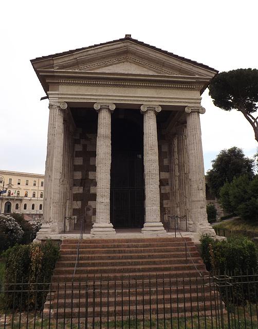 The Temple of Portunus in the Forum Boarium in Rome, June 2014