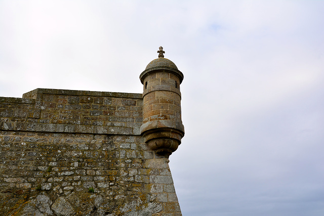 Saint-Malo 2014 – Fort National – Turret