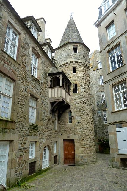 Saint-Malo 2014 – La cour La Houssaye