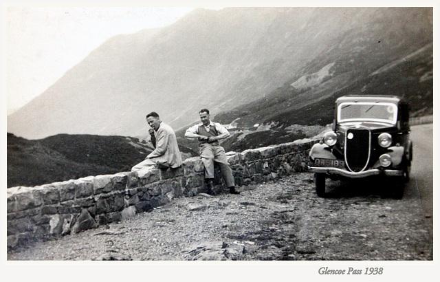 Glencoe Pass 1938