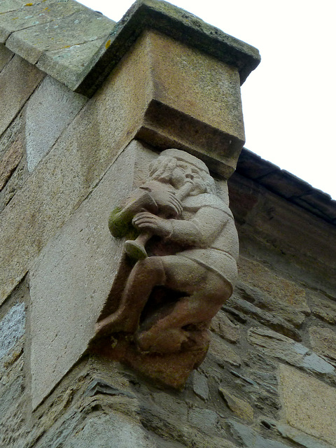 Saint-Malo 2014 – Flute player