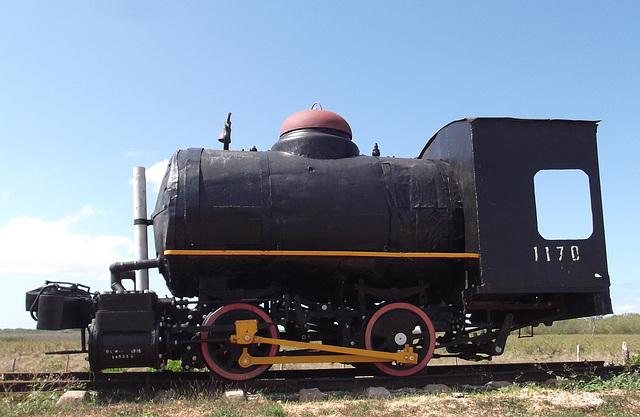Locomotive cubaine / Cuban locomotive.