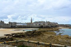Saint-Malo 2014 – View of Saint-Malo from Fort National