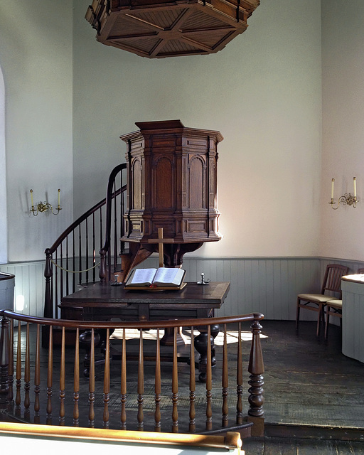 The Lectern – Old Dutch Church of Sleepy Hollow, Tarrytown, New York