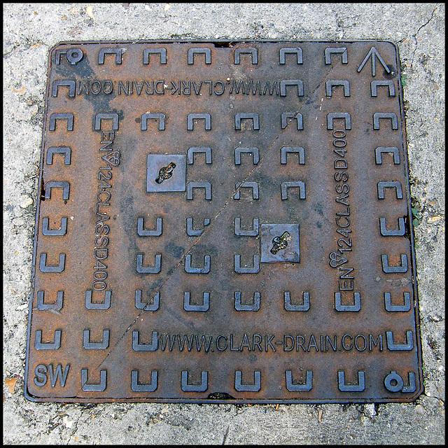 Clark drain cover