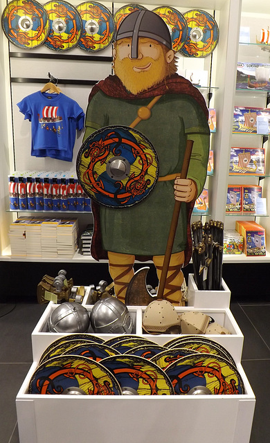 Viking Toys in the British Museum, May 2014
