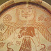 Detail of a Plate with a Winged Goddess with a Gorgon's Head in the British Museum, May 2014