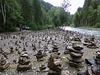 Steinmännchen bis zum nächsten Hochwasser