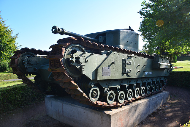 Bayeux 2014 – Churchill tank