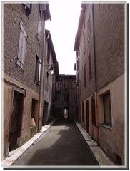 Ruelle-impasse à Bélesta - 09300 - France.