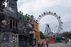 le prater la grande roue construite pour l'expo universelle en 1900