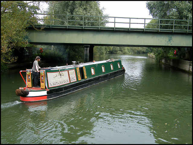 Thames at Osney Railway Bridge